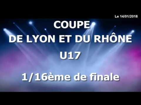 2- Coupe de Lyon et du Rhône - 1/16ème de Finale