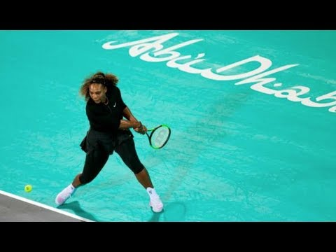 2017 Mubadala World Tennis Championship | Serena Williams vs Jelena Ostapenko Highlights