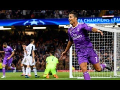 Juventus vs Real Madrid 1-4  FINAL CHAMPIONS LEAGUE - 1er Gol de Ronaldo