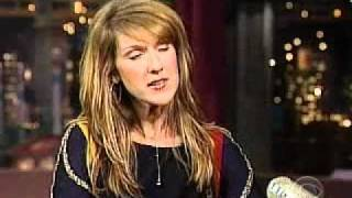 Celine Dion on the Late Show - The Interview 2002