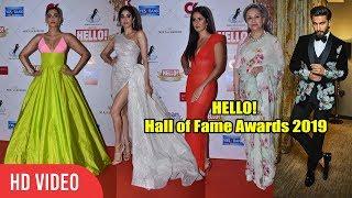 HELLO! Hall of Fame Awards 2019 | Katrina Kaif, Ranveer Singh, Sonam Kapoor, Janhvi Kapoor