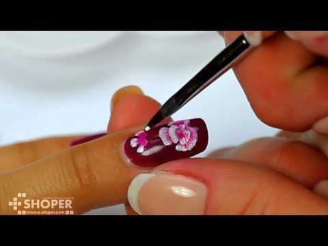 Китайская роспись ногтей для начинающих - DomaVideo.Ru