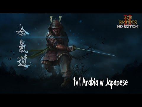 Age of Empires II HD Edition ➤ 1v1 Arabia w Japanese