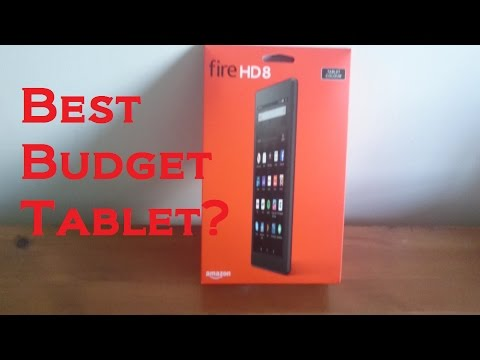 Amazon Fire HD 8 16GB unboxing and review