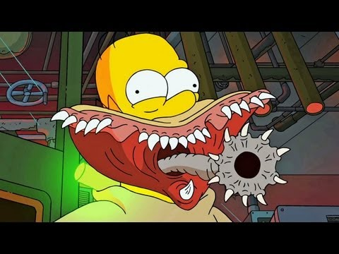 Every reference in The Simpsons Treehouse of Horror XXIV intro.