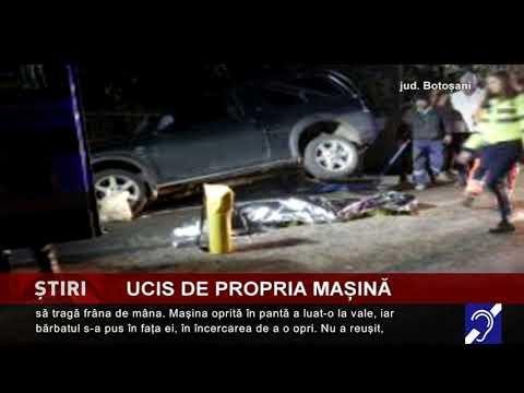 Ucis de propria mașină