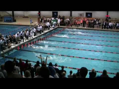 200 Freestyle Relay Finals 2011 Women's Ivy Champs