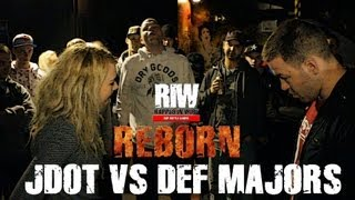 Rapped In Wire | JDot vs. Def Majors