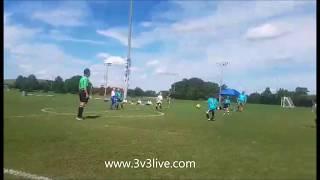 Lily Kentfield Age 8 (2/17/09) Team - Fantastic Four Club - Stones River Futbol Club 3v3 Live Under the Lights Mufreesboro,...