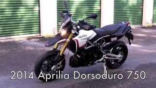 7. 2014 Aprilia Dorsoduro 750 White Walkaround at Euro Cycles of Tampa Bay