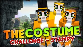 WE ARE ALL CATS, MEOW - Disguised as Stampylonghead - Minecraft Hunger Games - The Costume Challenge