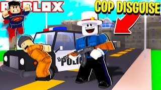 ROBLOX MAD CITY COP DISGUISE TROLLING