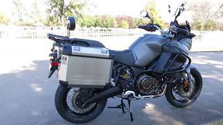 4. 2013 Yamaha Super Tenere Adventure bike, lots of extras, low miles