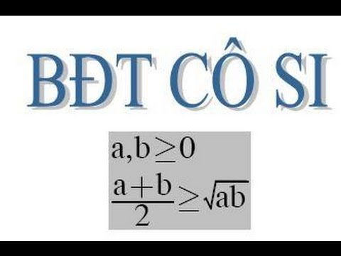 Chứng minh bất đẳng thức Cauchy