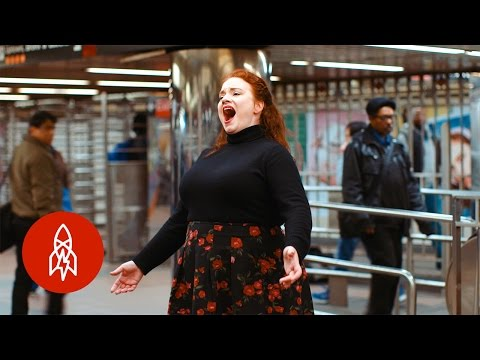Incredible Subway Singers Sing Opera