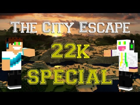 Minecraft Escape - [SPECIAL 22K] Vertez & Pan Śmietanka - Escape From The City