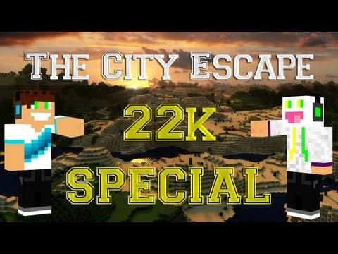 Minecraft Escape - [SPECIAL 22K] Vertez & Pan Śmietanka - Escape From The City