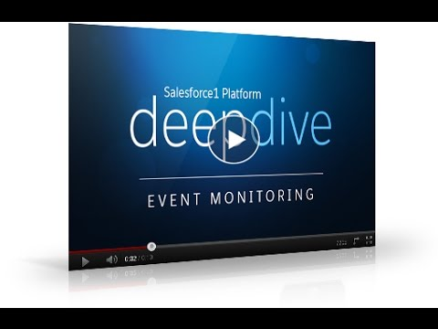 Salesforce1 Platform - Introduction to Event Monitoring