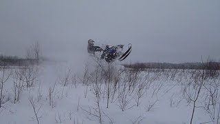7. RMK 600 155 mbrp jump and wheelie
