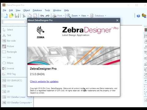 ZebraDesigner Pro v2.5.0 (9424) Full, Activar y Parchar