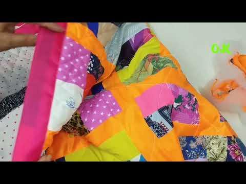 варианты стежки лоскутного одеяла сшит… видео