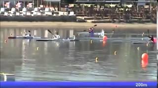 2015 Belgrade k-1 500m W National trials  of European Championships