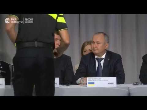 Пресс-конференция по итогам расследования крушения MH17 над Украиной в 2014 в Нидерландах