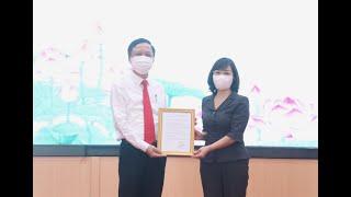 Công bố, trao quyết định bổ nhiệm Phó Bí thư Thành ủy Uông Bí
