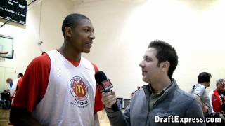 Bradley Beal - 2011 McDonald's All American Game (Interview & Practice Highlights)