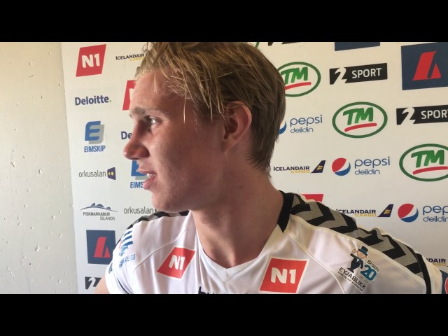 Felix Örn: Vill frekar vera framar á vellinum