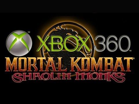 mortal kombat shaolin monks sur xbox