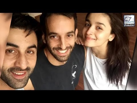 Ranbir & Alia's CUTE Selfie Before Starting Brahma