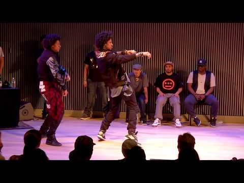 Knuckle - City Dance Live Battle at the San Francisco Jazz Center on July 3rd 2013 Semi Final Round: Les Twins vs Knuckle Neck Tribe (Boy Wonder and Marty MacFleazy) D...