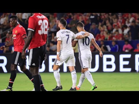 Video: GOAL! Giovani dos Santos pulls one back against Manchester United
