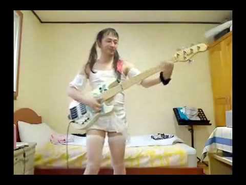 Weirdo Japenese Bass Player