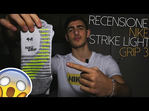 Recensione Nike Strike Light Grip 3