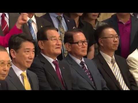 북핵폐기 천만인 서명, 한인사회 동참 호소 7.14.16 KBS America News