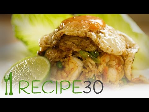 SPECIAL FRIED RICE (indonesian Style) - By Www.recipe30.com