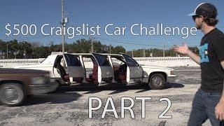$500 Craiglist Car Challenge. Ep 2. RIP Limo Doors by Rob Dahm
