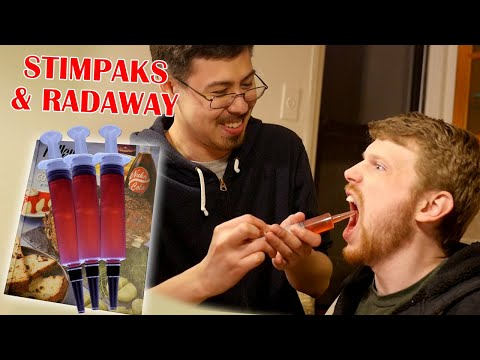 Fallout Test Kitchen: Stimpaks & Radaway!