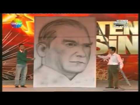Dünyanın En Hızlı Ressamı - Abidin Yurdakul