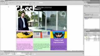 Dreamweaver CS5.5 Tutorial (Div Tags And CSS)