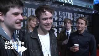 BRITs 2013: Winners Mumford & Sons Interview