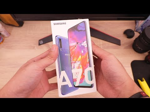 Lagi Hype,Unboxing Samsung Galaxy A70