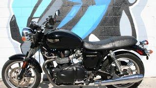 9. 2010 Triumph Bonneville Motorcycle For Sale