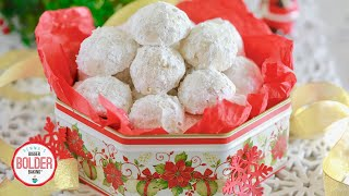 Classic Snowball Cookies by Gemma's Bigger Bolder Baking
