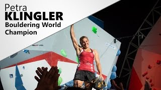 Interview | Petra Klingler, Bouldering World Champion by OnBouldering