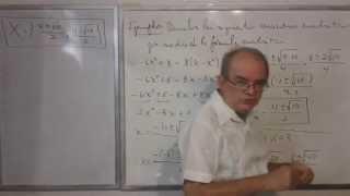 Algebra Intermedia - Lección 36 - B (resolviendo Ecuaciones Cuadráticas Por La Fórmula Cuadrática)