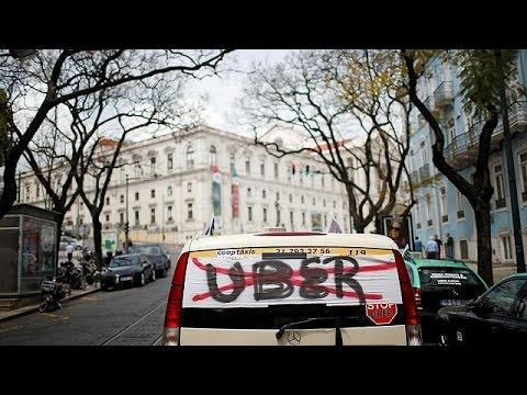 Πορτογαλία: Οδηγοί ταξί εναντίον Uber