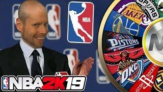 NBA 2K19 Wheel of NBA TEAMS!